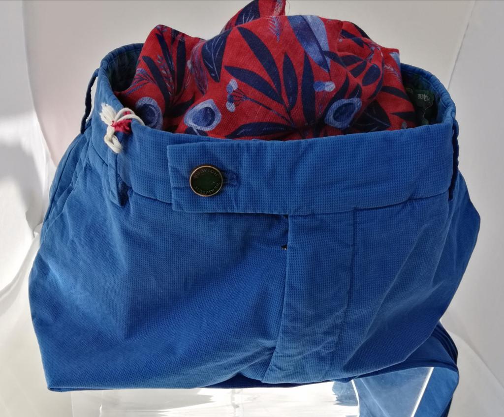 Berwich pantalone uomo mod. MORELLO, vestibilità slim, taglia regolare
