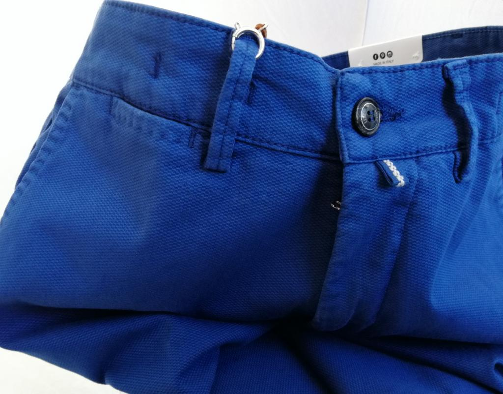 Exigo, pantalone uomo  slim fit in cotone stretch