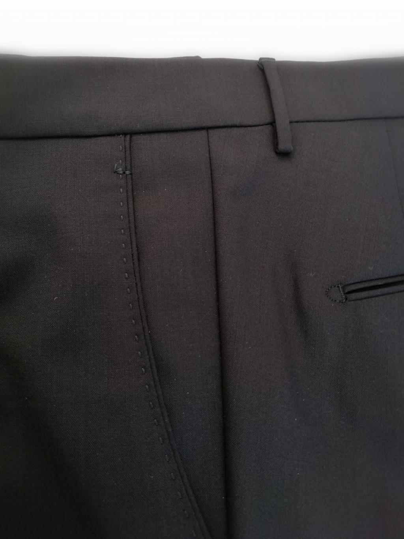 Berwich pantalone uomo mod. SC Milano, vestibilità slim, taglia regolare, colore blu
