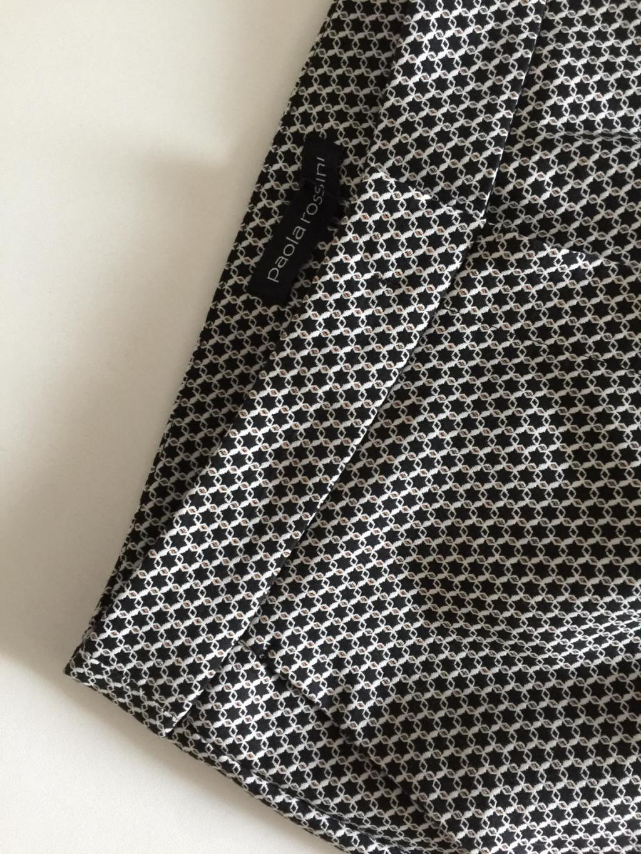 Pantalone donna mod. Carmine, stretch, disegno fantasia.