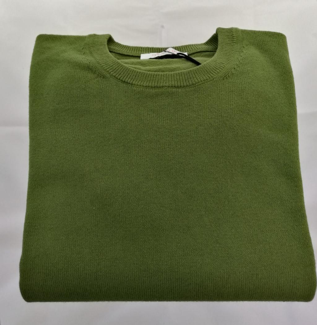 83751 maglia in cotone uomo girocollo