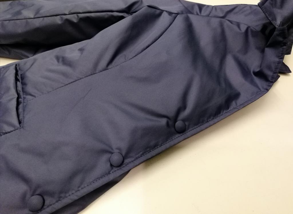 Giacchina ZE5788, realizzata in nylon idrorepellente