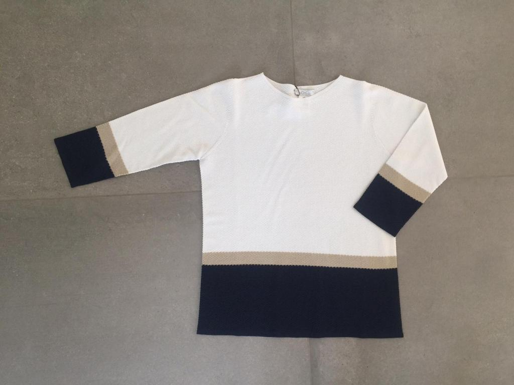 maglia femminile scollo barchetta MOD. S215043.