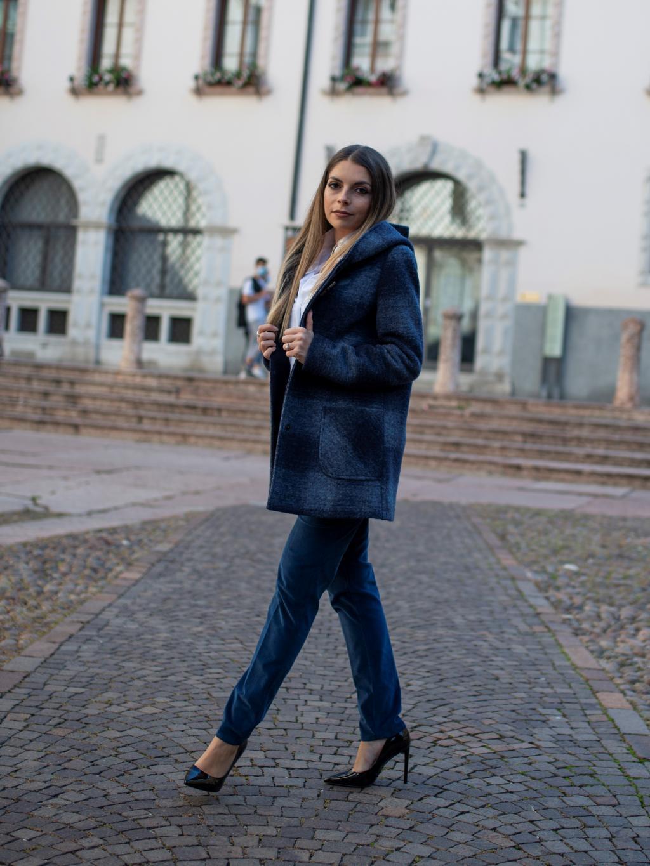 Cappotto Koda Blu quadro